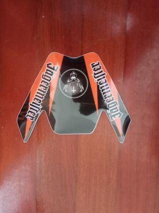 Pegatina guardabarros KTM