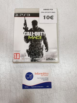 Videojuego CALL OF DUTY MW3 / PS3