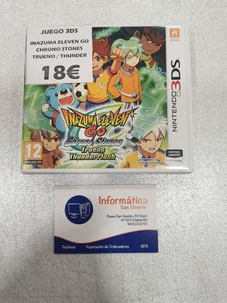Videojuego Inazuma Eleven/ 3DS