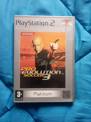 Pro Evolution Soccer 3.PlayStation 2. PS2.