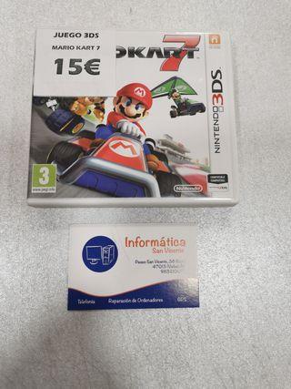 Videojuego MARIOKART 7 / 3DS