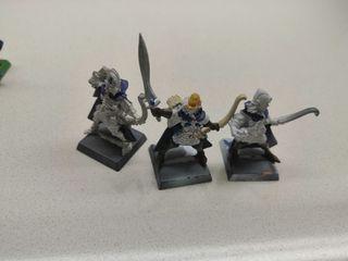 3 guerreros sombrios Altos Elfos Warhammer