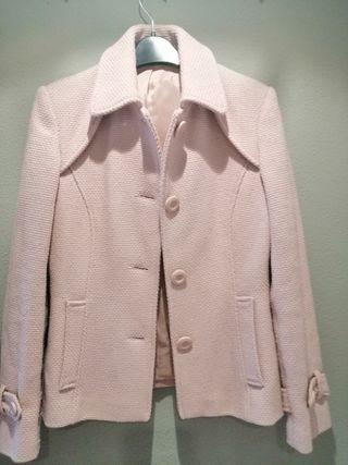 chaqueta rosa preciosa zara