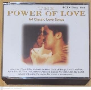 THE POWER OF LOVE - 4 CD 1999
