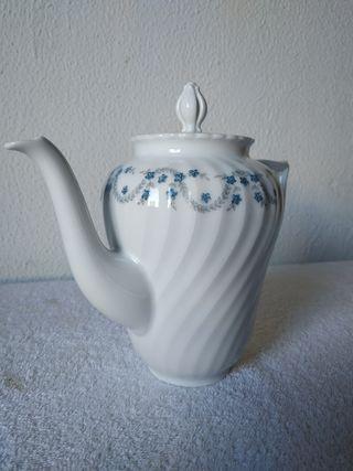 Tetera, cafetera porcelana