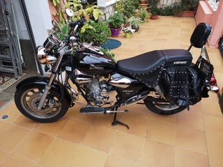 Moto choper 125 cc keeway superlight