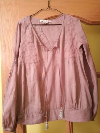 Camisa étnica de Zara
