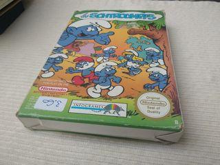 Los pitufos Nintendo NES Nese Ness.