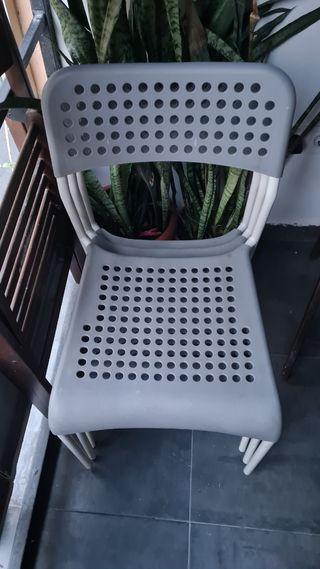 silla cocina Ikea 4 unidades