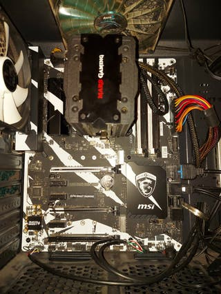 PROCESADOR + PLACA BASE + FAN