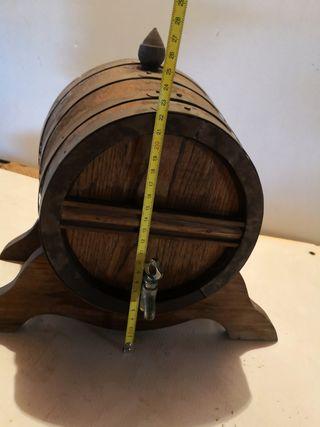 Bota o barrica madera