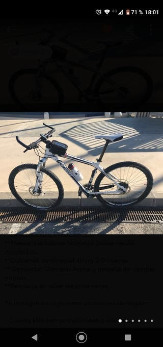 """Bicicleta MTB Specialized 29 """" - Cross Country"""