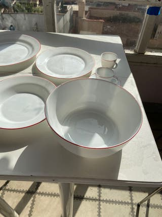 Set de platos completo