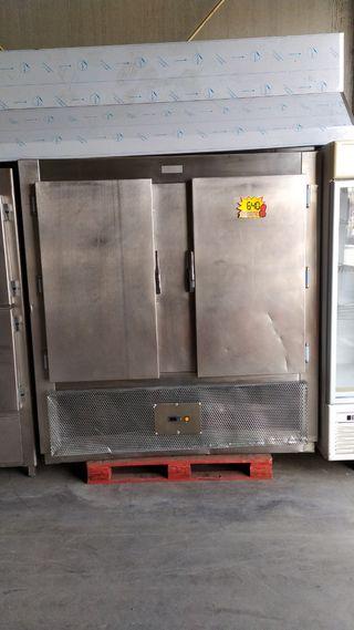 camara refrigerada acero inox de 2 puertas