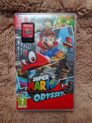 CAMBIO Super Mario Odyssey