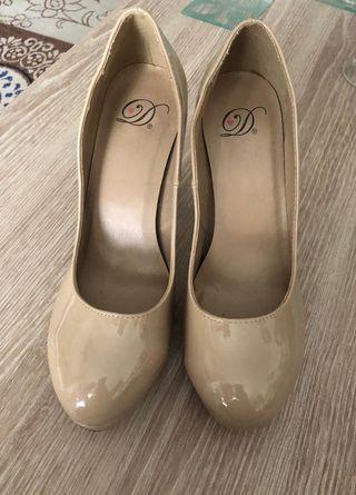 Zapatos tacon preciosos Talla 37,5