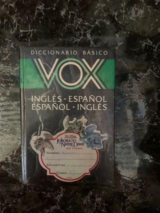 DICCIONARIO ESPAÑOL-INGLÉS, INGLÉS-ESPAÑOL