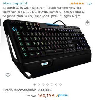 Teclado Gaming - Logitech G910