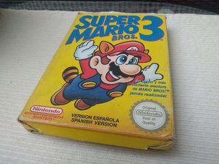 Super Mario Bros 3 Nintendo NES Nese Ness.