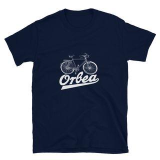 Camiseta con logo de bicicleta clásica Orbea
