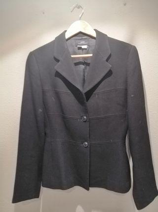 americana blazer negro