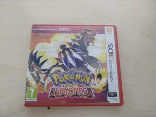 Caja de Pokemon Rubi Omega Nintendo 3DS