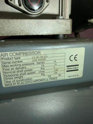 Compresor atlas copco