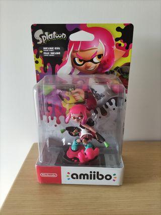Amiibo splatoon niña rosa