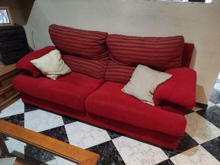 Sofás rojos