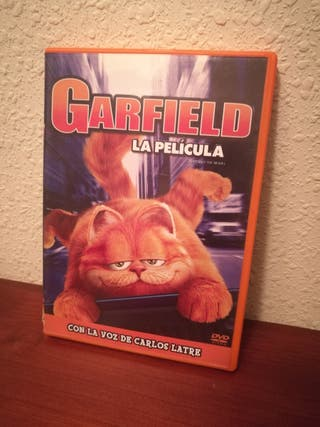 DVD GARFIELD LA PELICULA