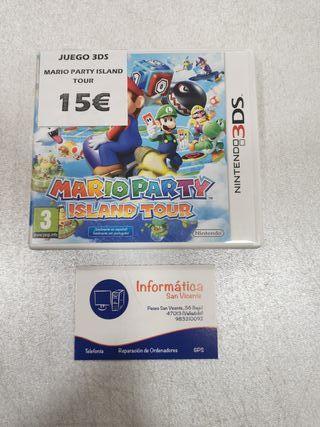 Videojuego MARIO PARTY ISLAND TOUR/ 3DS