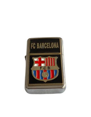 Mechero futbol f.c Barcelona a gasolina ,(sin gaso