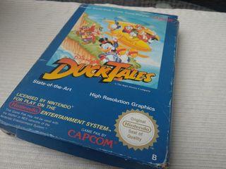 Ducktales Pato aventuras Nintendo NES Nese Ness.