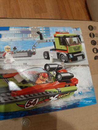 Lego 60254 Lancha rápida y camión