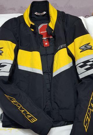 chaqueta motorista mujer