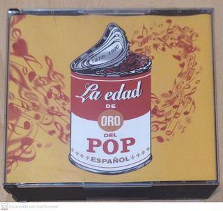 LA EDAD DE ORO DEL POP ESPAÑOL - 5 CD 2001