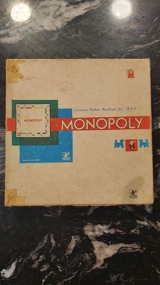 Monopoly Edición Española - Juguetes Borras (1961)