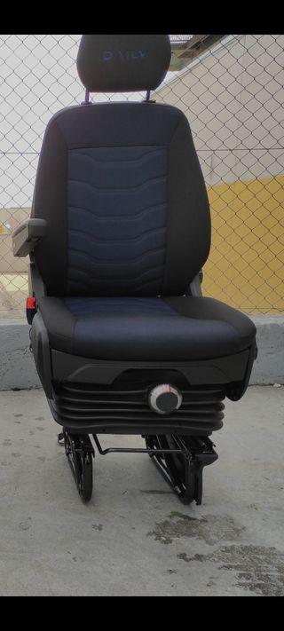 asiento suspensión confort