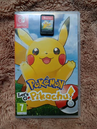 CAMBIO Pokémon: Let's go Pikachu!