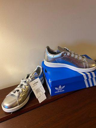 Zapatillas Adidas Stan Smith talle 36.5