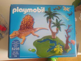 Playmobil 5235 Dimetrodon. Año 2012