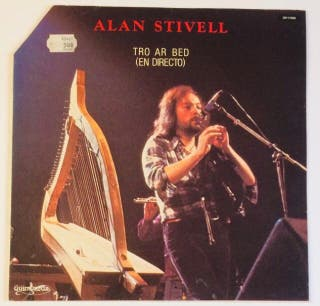 ALAN STIVELL ( Folk rock Celta ) Disco Vinilo LP