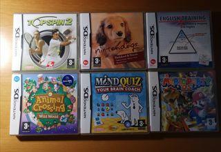 Juegos varios de Nintendo DS.