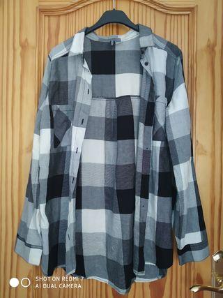camisa de cuadros H&M
