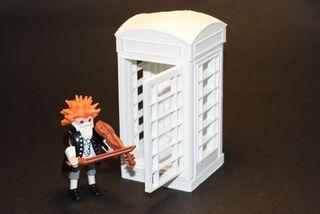 Playmobil 3D cabina telefónica inglesa