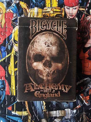 Baraja Bicycle Alchemy 1977 England