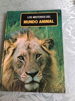 Los misterios del mundo animal .