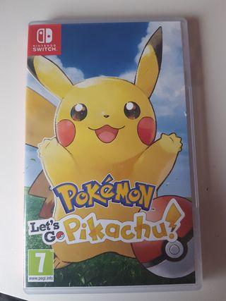 Juego Pokemon pikachu (nintendo Switch)
