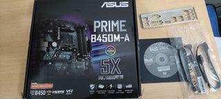Placa Base AMD Asus Prime B450M-A