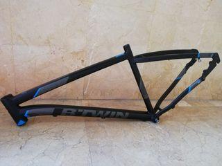"""Cuadro de bici MTB B'TWIN ROCKRIDER 520, 27.5"""",T:L"""